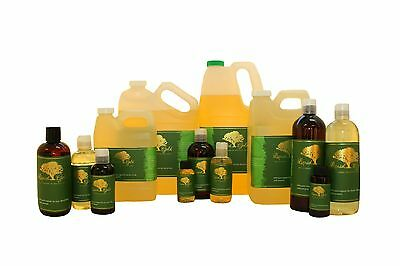 Premium Unrefined Sunflower Seed Oil 100% Pure Organic Natural Cold Pressed