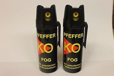 KO FOG Pfeffer Spray  2 Dosen á 50 ml  - nur zur Tierabwehr!