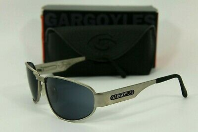 Gargoyles Sonnenbrille Vintage Moto Matt Silber Black Ice