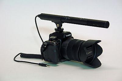 Pro SL2 VM SC DSLR video mic for Canon 70D 6D 7D 60Da Rebel T5i T3i SL1 EF-M