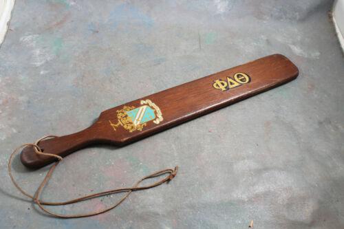 Fraternity Paddle Phi Delta Theta SCUM FAY