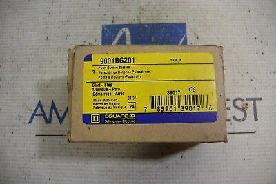Square D 9001 Bg201 Push Button Startstop Station Ser A Nib