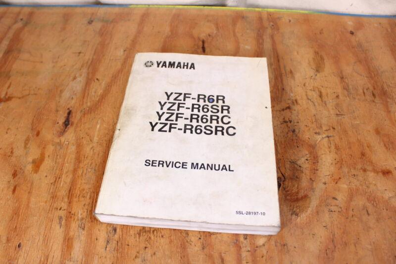 2003 yamaha yzf r6r yzf r6sr yzf r6rc yzf r6src service manu