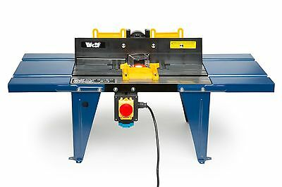 Wolf aluminium router table spindle moulder in kirkby in for P a furniture kirkby