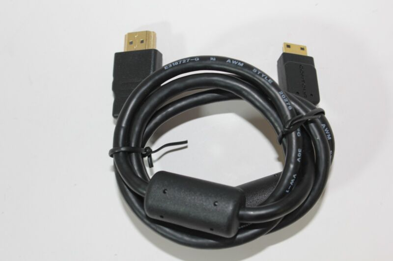 Genuine Contour 3 ft HDMI to Mini HDMI Cable