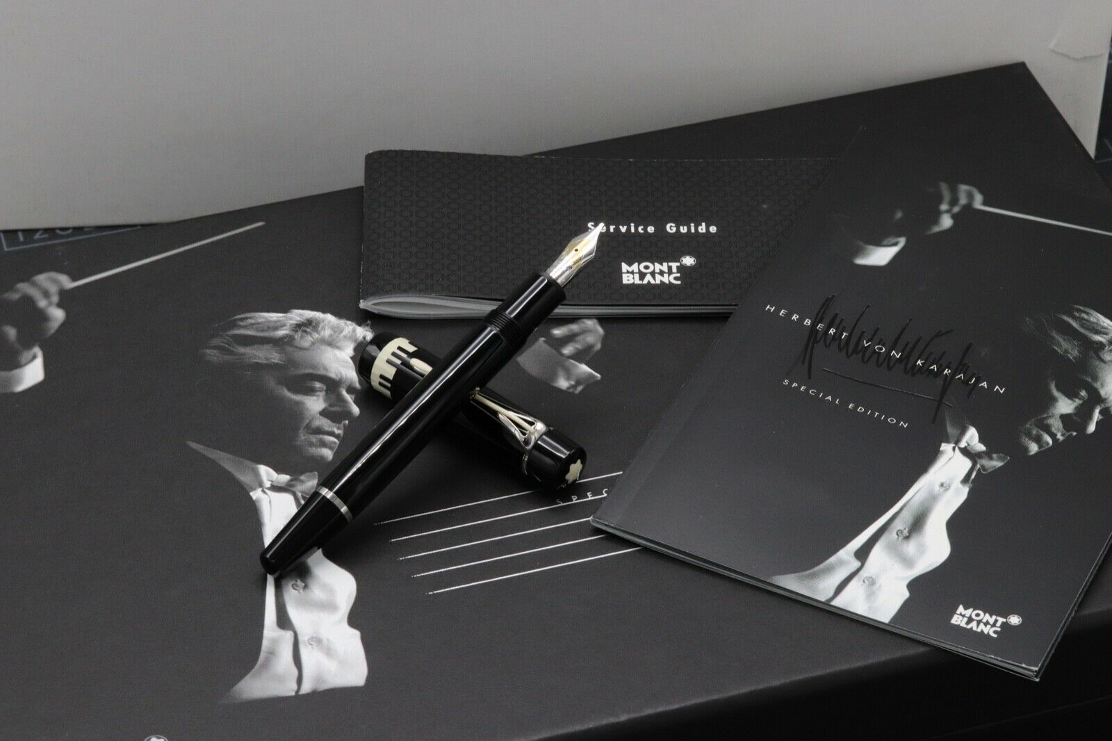 Montblanc Donation Series Herbert von Karajan SE Fountain Pen - UNUSED
