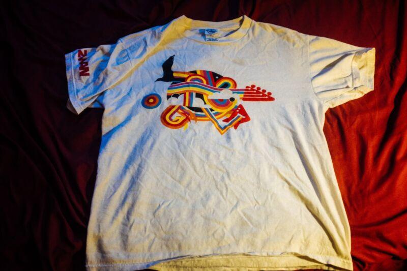 Vintage Zwan Tour 2003 T Shirt Smashing Pumpkins (Size M, Very Good Condition)