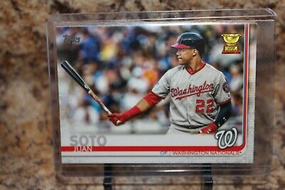 2019 TOPPS WASHINFTON NATIONALS SOTO JUAN ALL STAR ROOKIE CARD# 213