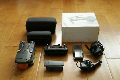 DJI Mavic Pro Quadcopter with Unusual Controller, Extra Battery, and ND Filters