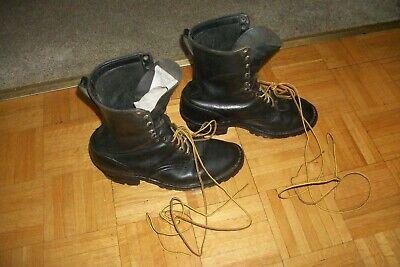 """HATHORN 11 """" HIGH SMOKE JUMPER BOOTS  (( Not Steel Toes ))   MEN SIZE 12 D"""