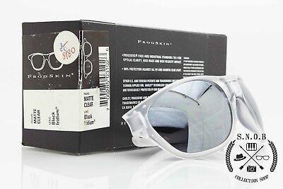 135dd6f091 Oakley FrogSkin Matte Clear Black Iridium vintage occhiali da sole rarissimi