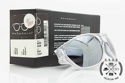f0041fc9509 Oakley FrogSkin Matte Clear Black Iridium vintage occhiali da sole rarissimi