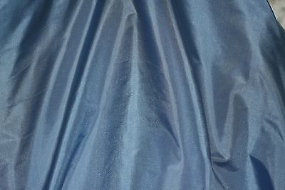 Blue Taffeta (Light Blue Tissue Taffeta, 100% Silk Fabric, 44