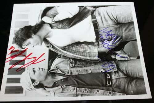 JOHNNY DEPP PETER DELUISE HAND SIGNED AUTOGRAPH 21 PHOTO PHOTOGRAPH