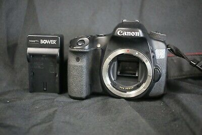Canon EOS 70D 20.2MP DSLR Camera Body w/ Charger