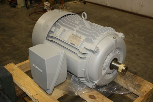 New Siemens 50 HP Premium Efficiency Electric Motor 3565 RPM 326TS