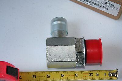 Parker Crimp Hose Fitting 25tb-20-16 Reusable Hose Fitting Elbow Tube Adapter