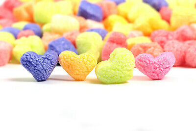 Funpak Packing Peanuts Multi Color Hearts 1.5 Cu Ft Compostable Biodegradable