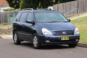 2008 Kia Carnival 8 seater low kms cheapest on Gumtree Wollongong Wollongong Area Preview