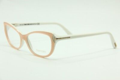 NEW TOM FORD TF 5286 072 PINK EYEGLASSES AUTHENTIC RX TF5286 52-15 W/CASE