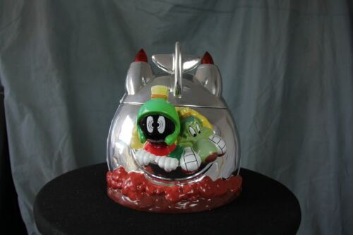 Marvin the Martian with K9 and spaceship cookie jar  NEW LOWER PRICE