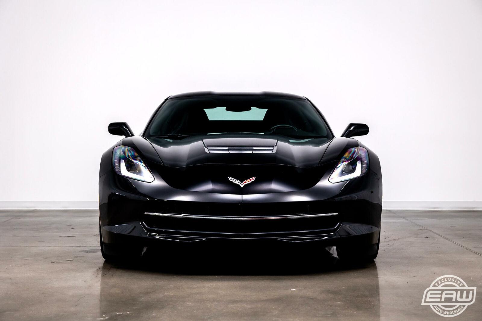2014 Black Chevrolet Corvette Coupe 1LT | C7 Corvette Photo 3
