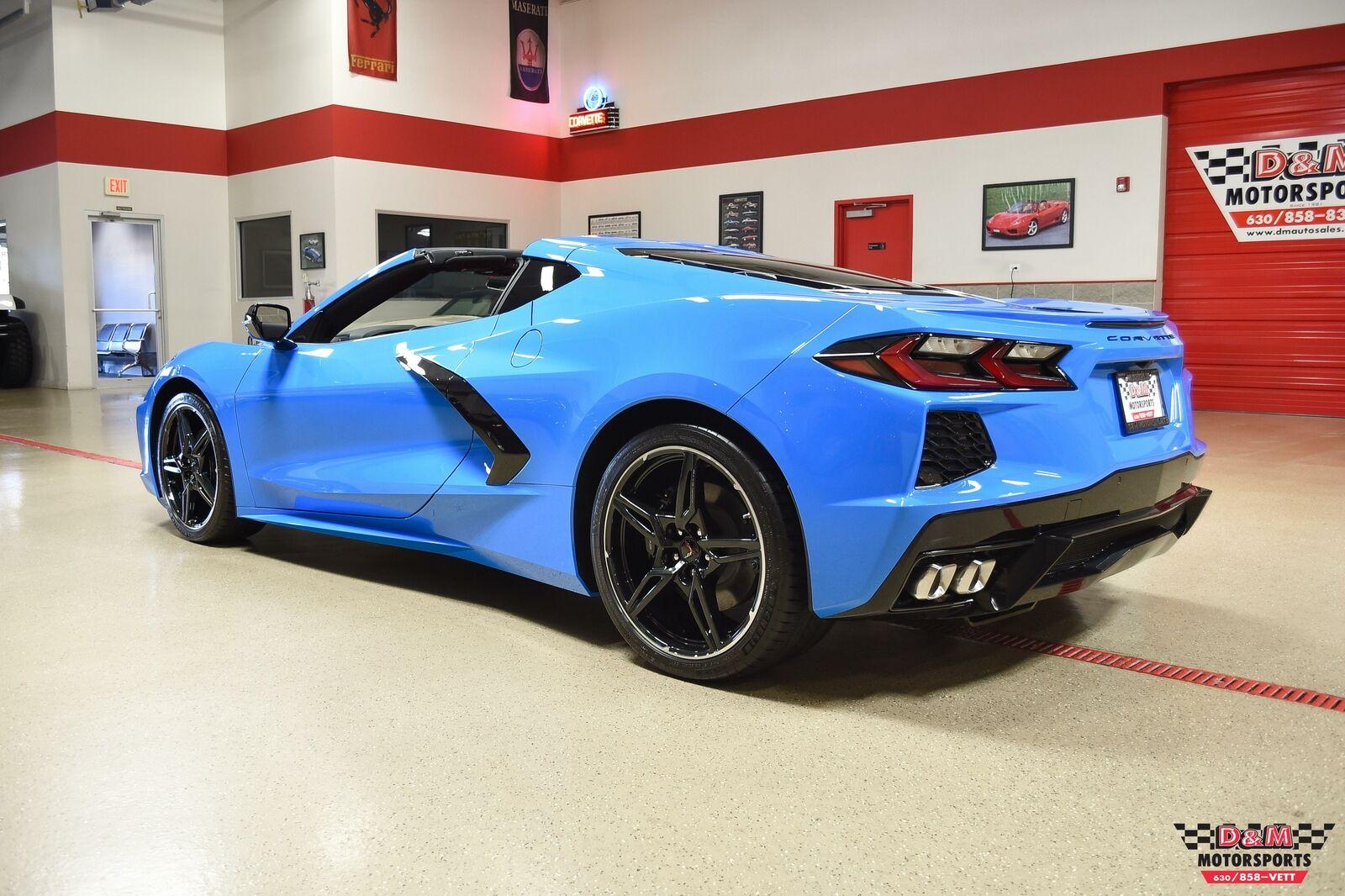 2020 Blue Chevrolet Corvette Stingray  | C7 Corvette Photo 3