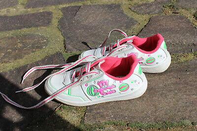 Schuhe Mädchen Kleinkind Gr. 29 weiß Turnschuh Halbschuschuh