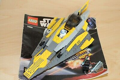 Lego Star Wars The Clone Wars Anakin's Jedi Starfighter (2008)