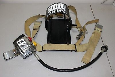 Scott Presur-pak Ii Air-pak Air Pack Vintage Firefighter Old School Movie Props