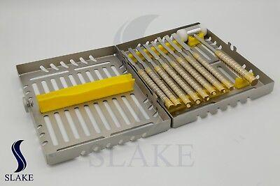Chisels Set 9 Pcs Mallet For Bone Splitting Dental Implant Placement