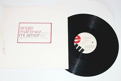 "Angie Martinez:Mi Amor (W/ Jay-Z)-12"" Maxi Single Vinyl (NM) PROMO"