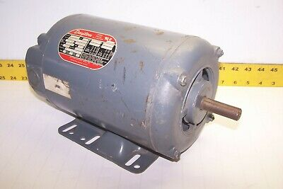 Dayton 1-12 Hp Ac Electric Motor 3 Ph 17251425 Rpm 208-220440v J56h Fr 3n013h