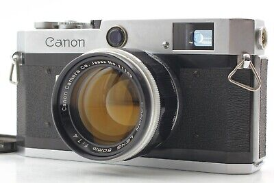 Ship by FedEx【N MINT】 Canon P Rangefinder 35mm w/ 50mm f/1.4 L39 Lens from JAPAN