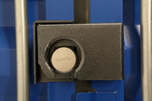 Powder Coated Bolt On Shipping Container Security Lock Box W/ Free Puck Lock