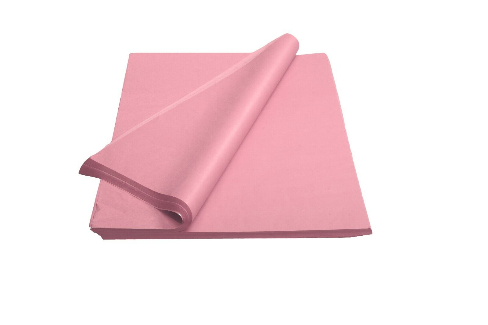 "480 Sheets Solid Pink Tissue Paper Ream 20"" x 30""- Gift Wrap"