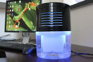 Ecogecko Water Based Air Revitalizer Purifier w/ UV Light Air Freshener Cleaner