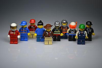 LEGO® Figuren, 10 Stück, Sammlung, Männchen gemischt mit Kopfbedeckung, Konvolut online kaufen