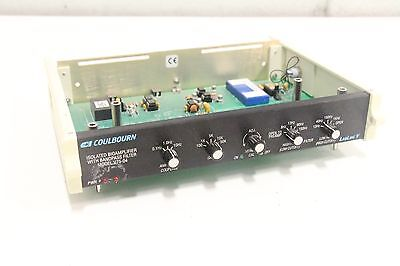 Coulbourn V75-04 Isolated Bioamplifier W Bandpass Filter