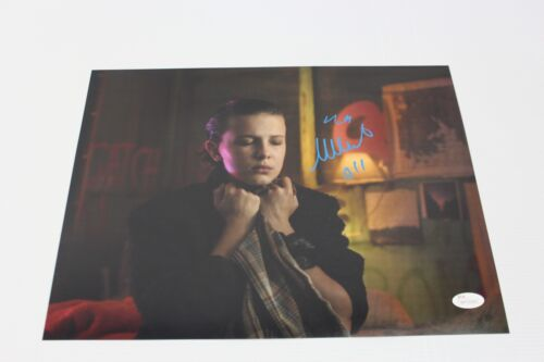 Millie Bobby Brown SIGNED STRANGER THINGS S2 Eleven 11x14 Photo JSA AUTOGRAPH 7