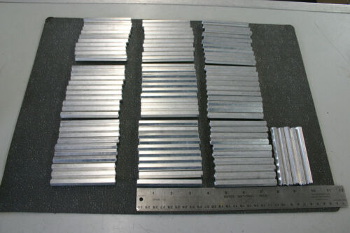 """24 Pieces Aluminum Hex Standoff 3 1/2"""" Long x 3/8"""" Wide with 10-32 Thread NOS"""