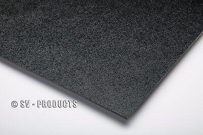 Abs Plastic Sheet Black Vacuum Forming 18 Thick 8 X 12 - 251b