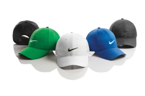Nike Dri-FIT Swoosh Front Adjustable Strapback Dad Cap Authentic Men