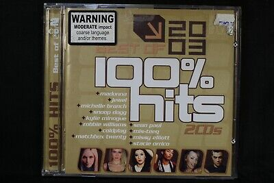 100% Hits - Best Of 2003 - Chingy - Snoop Dogg - Sophie Monk -  2 Cd