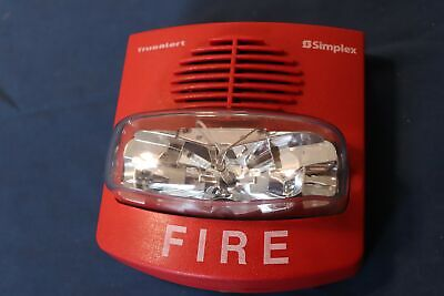 Simplex Truealert 4906-9127 Fire Alarm Hornstrobe School Surplus