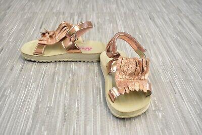 **Naturino 6029 SS18 Sandals - Toddler's Size 8.5 - Rose Gold Naturino Pink Sandals