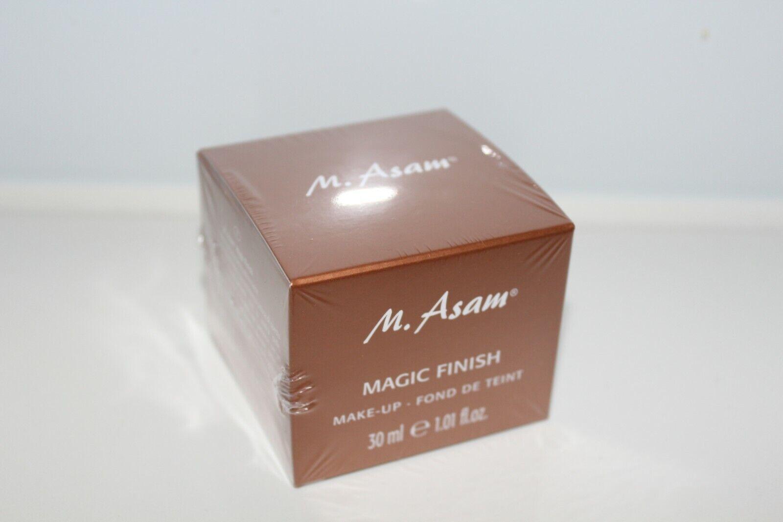 M.ASAM  Magic Finish Make-up Mousse 30 ml neu in OVP Ungeöffnet
