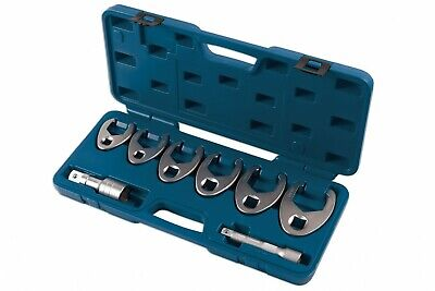 50MM DROP FORGED HEAT TREATED 6 PIECE LARGE JUMBO SPANNERS SET 33MM