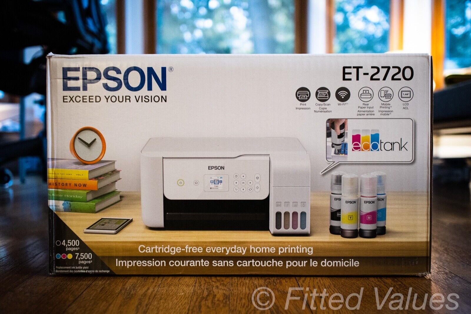 Epson EcoTank ET-2720 All-In-One Supertank Color Printer  -