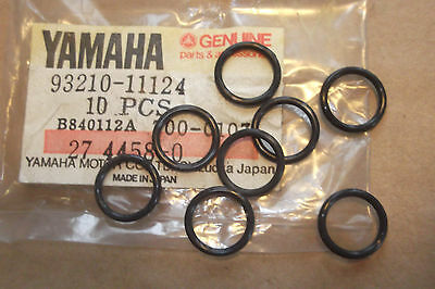<em>YAMAHA</em> XS500  TX500  GENUINE  NOS  VALVE  GUIDE  O RING  SET    93210